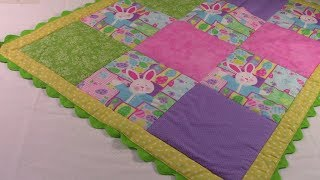 Easy Baby Quilt | The Sewing Room Channel
