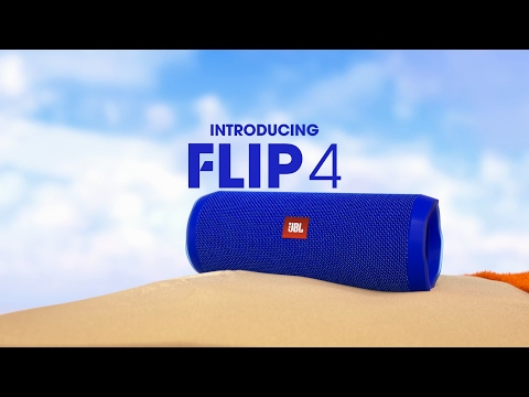 The JBL Flip 4 Waterproof Speaker