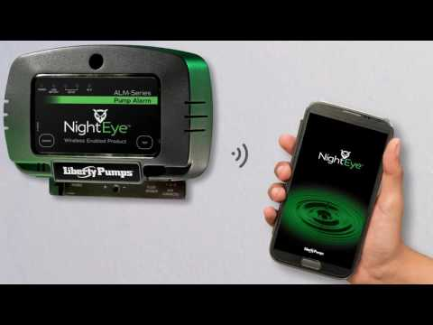Liberty Pumps NightEye Wireless Enabled High Water Alarm Video