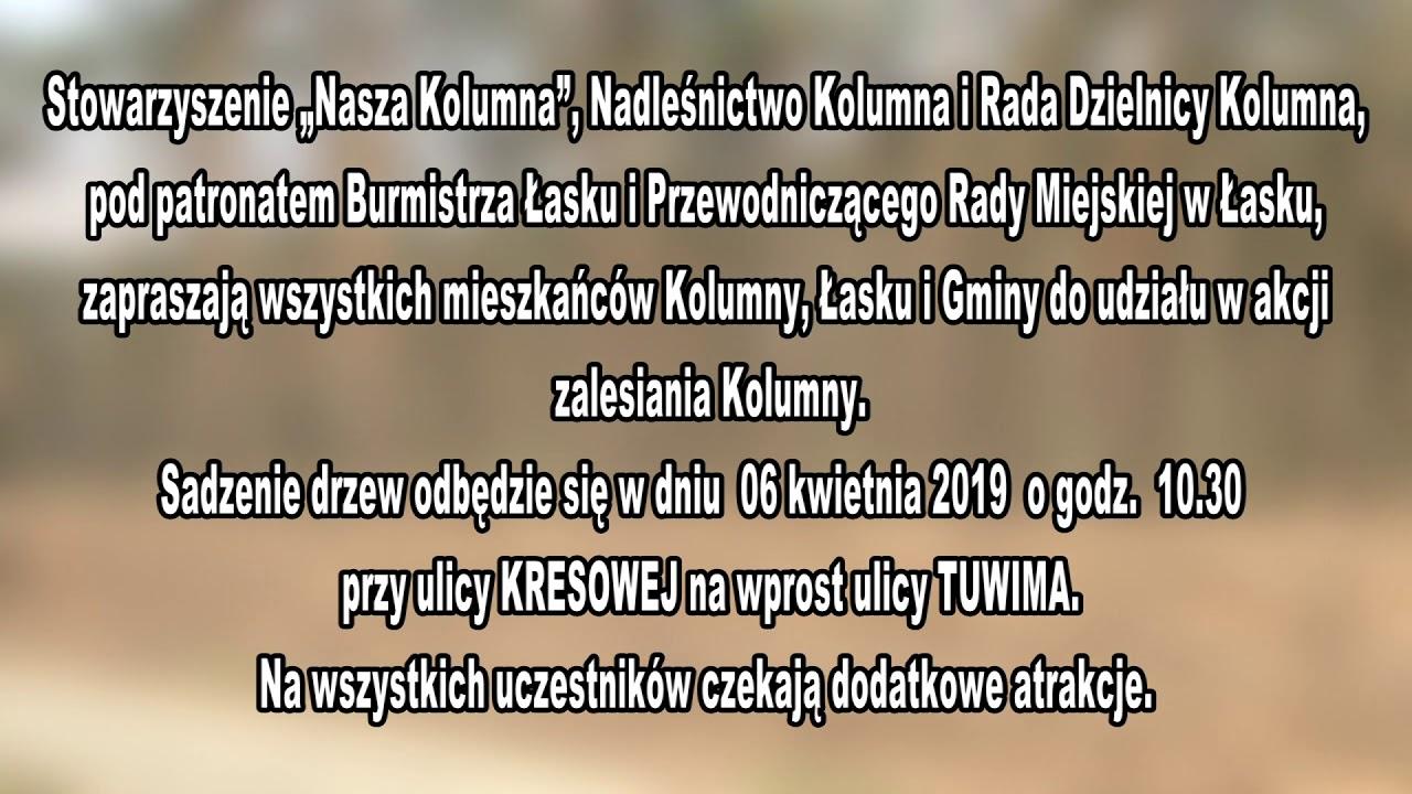 """Stowarzyszenie """"Nasza Kolumna"""" zaprasza – ogłoszenie"""