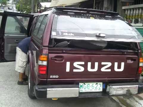 hho on isuzu fuego marikina phl. by rey mangcucang