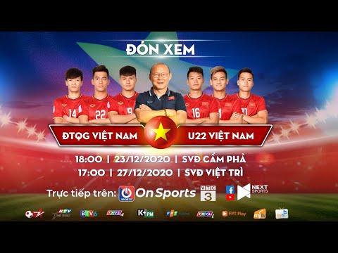 Trailer ĐT Việt Nam - U22 Việt Nam | Giao hữu ủng hộ miền Trung