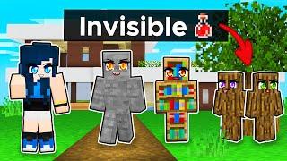 100% HIDDEN in Minecraft Hide N' Seek!