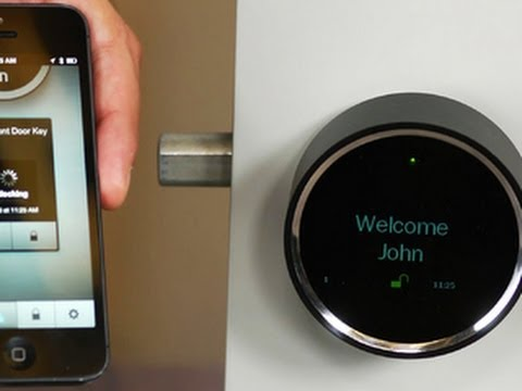 First look: Goji Smart Lock, the lock that knows who's knocking