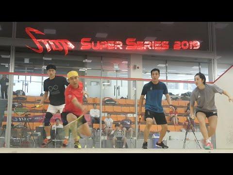 [매치업스쿼시] 김가람-한기영 vs 박춘형-이성국(S-Top Super Series 2019)