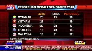 Inilah Perolehan Medali Sementara Indonesia Di SEA Games