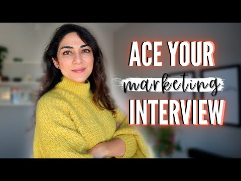 , title : 'HOW TO PREPARE FOR A MARKETING INTERVIEW // Common marketing interview questions and answers