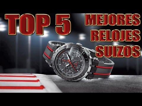TOP 5 | MEJORES RELOJES SUIZOS