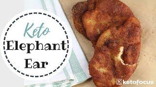 How to Make Keto Elephant Ears | Keto Carnival Food