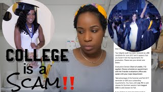 They took back my College Degree | CUNY is a SCAM!