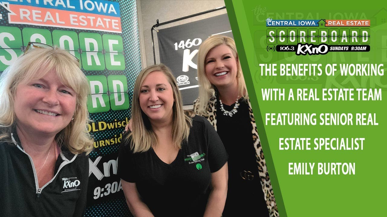 Ep. 16 The Benefits of Working With a Real Estate Team Featuring Senior Real Estate Specialist Emily Burton