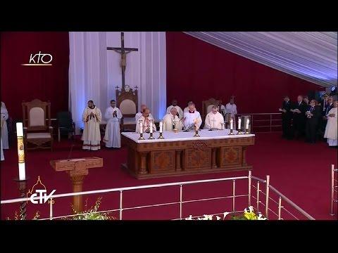 Messe célébrée par le Pape François en Egypte