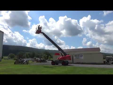 2014 SkyJack SJ61T Boom Man Lift Telescopic Lift JLG Lift 4X4 61' Duetz Diesel For Sale