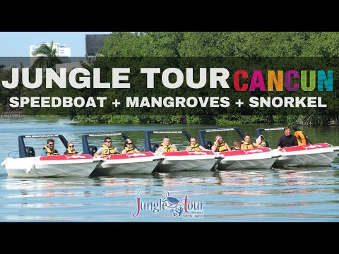 Speedboat and Snorkel – Cancun Jungle Tour