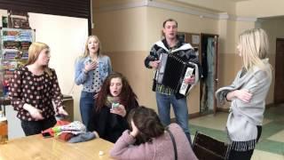 Молоденькие Студенточки Отжигают :))