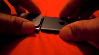 iPod nano 7th generation unboxing and comparison to 6th generation nano g gen 7 6 slate black