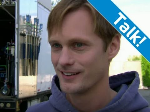 True Blood Staffel 4 - Alexander Skarsgård über den Cast
