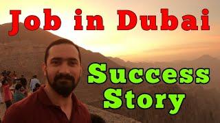 Job In Dubai | Success Story |  Shafeeq Account Manager  Dubai Jobs