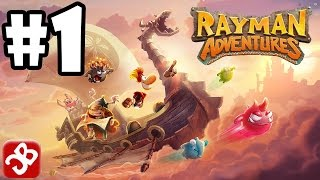 Rayman Adventures (By Ubisoft) iOS / Android Gameplay Video - Part 1