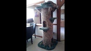 Huge 6ft Tall Cat Tree Homebrew DIY - Aka The Tower