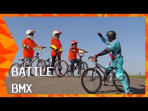 Battle BMX met Suéla Ruitenga en Junny Brejita | ZAPPSPORT