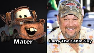 Characters and Voice Actors - Cars 2