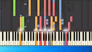 [Piano Tutorial Synthesia]Christian Wunderlich - Thats my Way to say goodbye (pr)