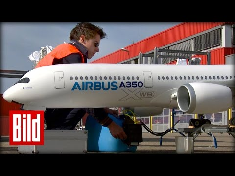 A-350 Modellflugzeug - Mini-Airbus ganz groß - Ferngesteuert