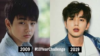#10YearChallenge - 12 Korean Actors & Actress With Their Then-and-Now Transformation