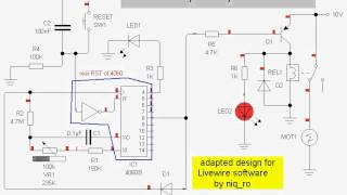 off-delay relay with 4060