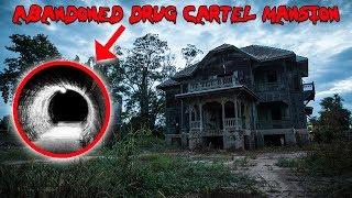 EXPLORING ABANDONED DRUG CARTEL MANSION! SECRET TUNNEL FOUND | MOE SARGI