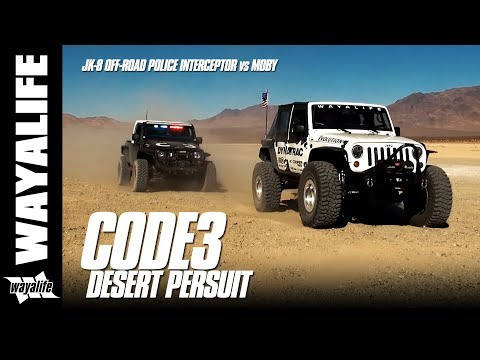 CODE 3 Desert Pursuit - JK-8 Off-Road Police Interceptor Vs. Moby