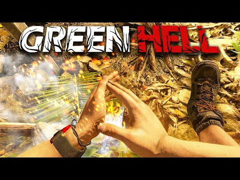 Green Hell - Part 1 - EXPLORING AND SURVIVING THE AMAZON (Multiplayer)
