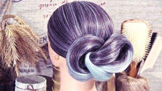 Причёска - Очень быстро - Две петли - Hairstyles by REM