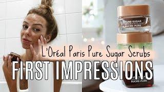 First Impressions Review | L'Oréal Paris Pure-Sugar Scrubs