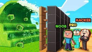Minecraft - SLIME TSUNAMI BASE CHALLENGE! (Build to Survive)