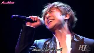 [21/01/12] [SUB/ESPAÑOL] Kim Hyun Joong - Love (live)