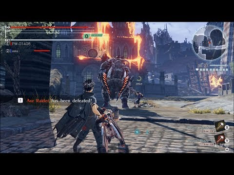 God Eater 3 Gameplay (Nintendo Switch HD) [1080p60FPS]