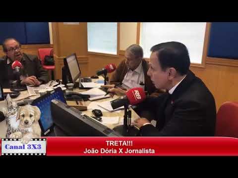 Briga entre João Dória e Rafael Colombo (Jornalista da Bandeirantes)