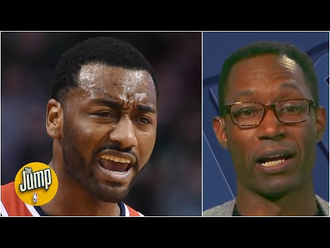 The Wizards did John Wall 'dirty' and fans are not happy – Clinton Yates | The Jump