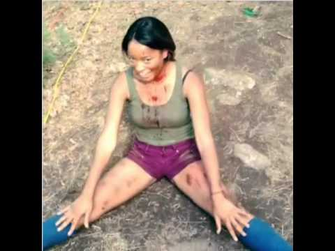 Keke Palmer on set of Horror Movie ANIMAL with Liz Gillies