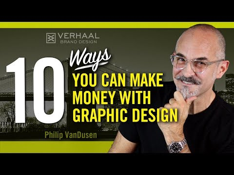 10 Ways To Make Money With Graphic Design: Other Than Freelancing Or A Full-Time Job