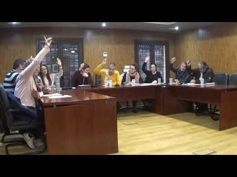 Pleno Ordinario 31/01/2020 Ayuntamiento de Cañete la Real (18:00h)