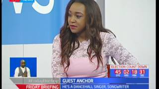 One-on-One with Nigerian superstar Patoranking of the My Woman hit song: Guest Anchor
