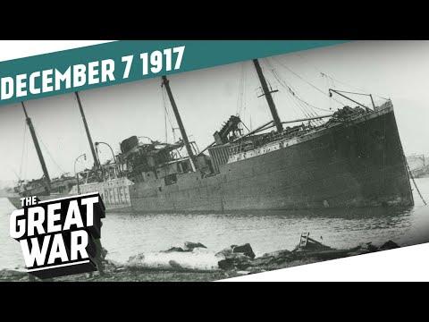 Výbuch v Halifaxu - Velká válka