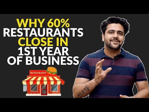 Why 60% Restaurants Close In 1st Year Of Business