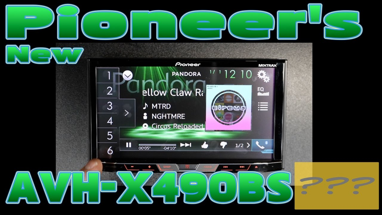 The New Pioneer Avh X490bs Unboxing And Review Wiring Harness For 5800