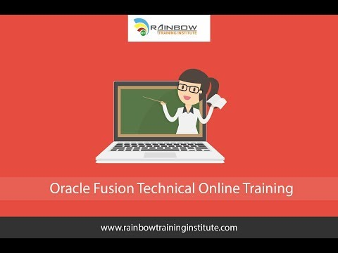 Oracle Fusion Technical Day-1 - YouTube