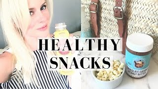 BEAUTY FROM THE INSIDE OUT: HEALTHY & ORGANIC SNACKS