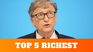 5 Richest people in the world in 2020